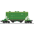 Train wagon vector image