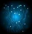 abstract circuit digital technology vector image