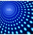 EPS10 Perspective Blue Dots Abstract vector image