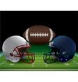 Football Bowl Game vector image