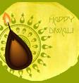 Happy Diwali Festival vector image