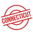 Connecticut rubber stamp vector image