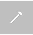 sledgehammer computer symbol vector image