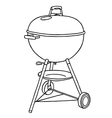 Barbecue BBQ vector image