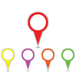 map poiter vector image