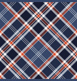 blue check fabric texture pixel seamless pattern vector image