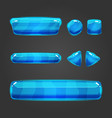 Set of button for game design - 2 vector image