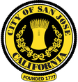 Sanjose city seal vector image vector image