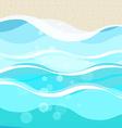 Vacation beach concept vector image
