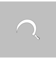 Sickle computer symbol vector image