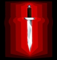 abstract sword vector image