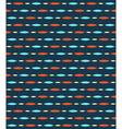 Seamless bright fun abstract horizontal pattern vector image