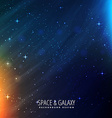 galaxy template vector image