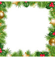 Merry Christmas Border vector image