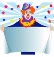 Clown Sign vector image