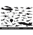 Aviation vector image