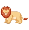Cartoon smiling Lion vector image