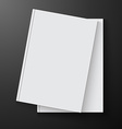 book blank vector image