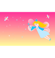 Dreamy fairy vector image