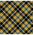 cornish tartan diagonal fabric texture seamless vector image