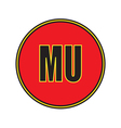 Icon Manchester United Football Club vector image