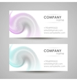 AbstractBusinessCards2 vector image