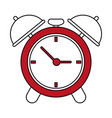 analog alarm clock icon image vector image