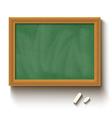 chalkboard green vector image