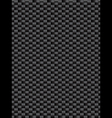 Black weave texture synthetic fiber geometric seam vector image