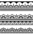 Indian seamless pattern design elements - Mehndi vector image