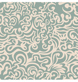 Curly blue seamless pattern vector image