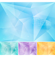 crsytal abstract background vector image