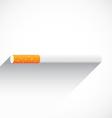 CigaretteFlatShadow vector image vector image