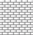 White Relief Wall Tiles Background - Seamless vector image