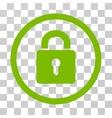 Lock Keyhole Rounded Icon vector image