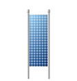 photovoltaic solar panel renewable energy source vector image