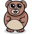 cartoon kawaii bear vector image