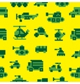 Pixel war seamless pattern vector image