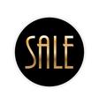 Sale Label Background vector image