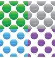 Sphere pattern set vector image