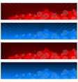 Blurry Banners vector image vector image