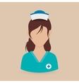 Medical care design vector image