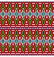 color knitted Christmas seamless pattern vector image