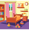 Children Bedroom Interior Children Room vector image