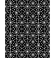 Monochrome abstract textured geometric seamless vector image