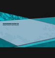 green blue background grunge vector image