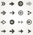 Arrow signs vector image