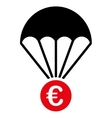 Papachute icon vector image