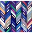 Seamless Color Abstract Zigzag Background vector image