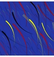 Abstract fishes in the depths of the ocean vector image